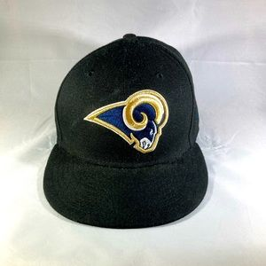 Los Angeles Rams New Era Fitted Cap
